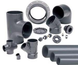 Spears Manufacturing Schedule 80 PVC Van Stone Socket Flange S854P