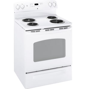General Electric Appliances 30 in. 4 Burner Electric Free Standing Range GJBP23DR