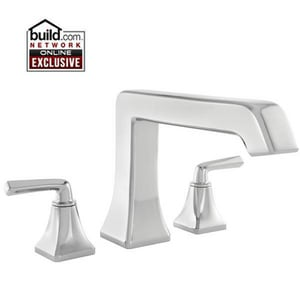 Pfister Park Avenue™ 3-Hole Roman Tub Trim Kit with Double Lever Handle PRT65FE