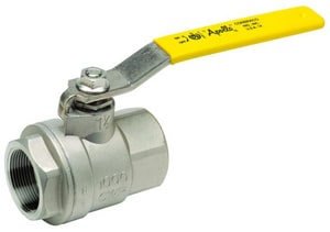 Apollo Conbraco 1000 psi Stainless Steel Threaded Full Port Ball Valve with Latch-Lock Lever A76F102427A