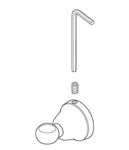 Delta Faucet Mounting Post DRP64153