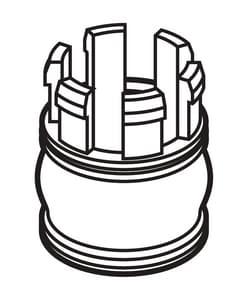 Delta Faucet End Cap DRP64156