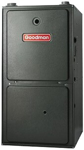 Goodman GCVC95 Series 24-1/2 in. 91000 BTU 95% AFUE 2 - 5 Ton Two-Stage Downflow and Horizontal 1 hp Natural or LP Gas Furnace GGCVC950915DX