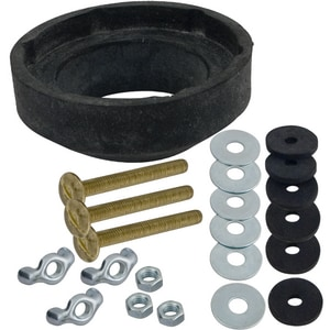 Lincoln Products® 3-Bolt Tank To Bowl Kit with Nuts, Washers and Recessed Gasket LIN100874