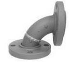 PSI Lined Piping Systems 150# Flanged Ductile Iron C110 90 Degree Elbow P1100