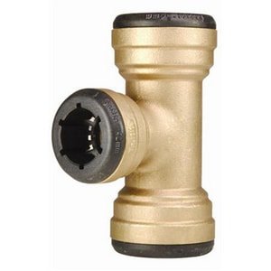 Elkhart Products Corporation Copper Brass Reducing Tee CTTLFCCD