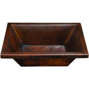Thompson Traders Diego 19 x 14 x 5 in. Rectangle Lavatory Sink in Black Copper TBPU1914BC