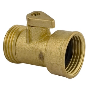 Lincoln Products® 3/4 in. Brass FHT x MHT Garden Valve LIN102838