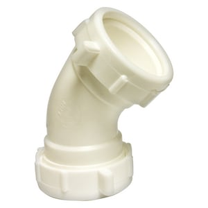 Lincoln Products® 1-1/2 x 1-1/2 in. PVC Slip Joint 45 Degree Elbow LIN108919