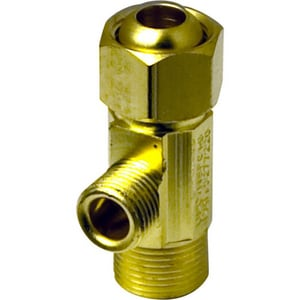 Lincoln Products® 3/8 x 3/8 in. Compression Adapter Tee LIN109391