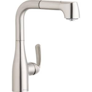 Elkay Gourmet® 1-Hole Pull-Out Spray Entertainment Faucet with Single Lever Handle ELKGT2042