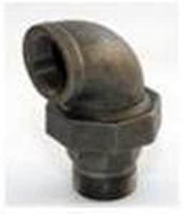 Jefferson Union FIP x Union 300# Black Malleable Iron 90 Degree Elbow B3009FU