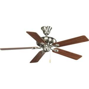 Progress Lighting AirPro 52 x 14-5/8 in. 5-Blade Ceiling Fan PP252109CH