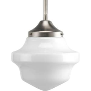Progress Lighting Schoolhouse 76-1/4 in. 100W 1-Light Medium Pendant PP5196