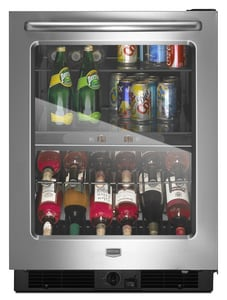 Maytag 5.8 CF Dual Temperature Beverage Center MMBCM24FWBS