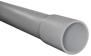Can-Tex Industries 10 ft. Schedule 40 PVC Conduit Pipe 1.05 OD CA52AG12