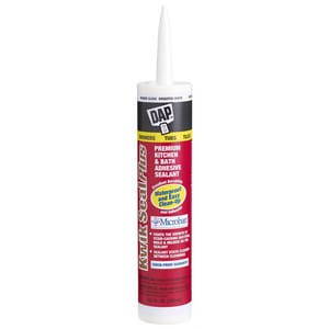 DAP Kwik Seal Plus® 10.1 oz. Silicone Latex Caulk D18510