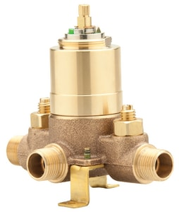 Mirabelle Accufit Ceramic Tub And Shower Valve Male Iron Pipe & Sweat with Stops MIR3001