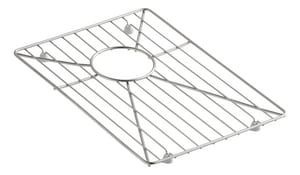 Kohler Vault™ 11 1/20 x 15 19/20 in. Bottom Basin Rack Stainless Steel K6647-ST