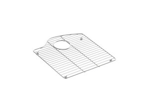 Kohler Wheatland® 9-1/8 x 14-3/8 In. Sink Rack For Right Bowl K6159