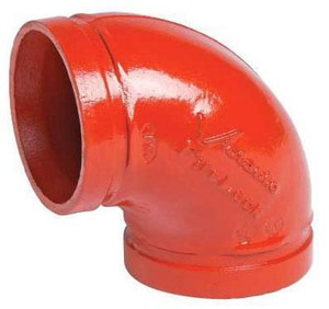 Victaulic FireLock™ Style 001 Painted 90 Degree Elbow VDOMF0001P00