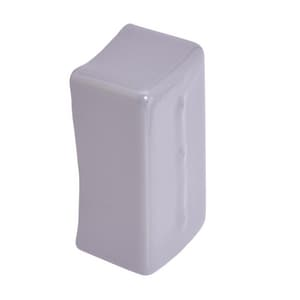 Cooper B-Line Eaton 1-1/4 in. Straight PVC End Cap for B22A and B11 Channels in White BB822AW