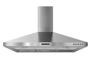 Kitchenaid Architect® 36 in. Stainless Steel Chimney Range Hood KKXW2336YSS
