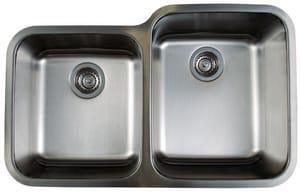 Blanco Usa Sinks : Blanco America Stellar? 2-Bowl Undermount Kitchen Sink in Polished ...