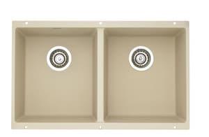 Blanco america precis equal double bowl undermount sink for Blancoamerica com kitchen sinks