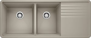 Blanco America Precis™ Multi-Level 1-3/4 Sink Bowl with Drainer B4404