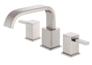 Danze Reef® 3-Hole Roman Tub Faucet with Double Lever Handle Metal Deckmount DD300933T