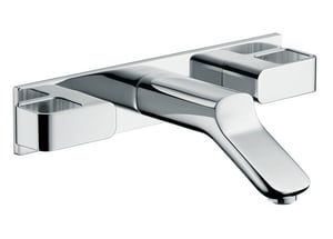 AXOR Urquiola 1.5 gpm Wall Mount Widespread Faucet in Polished Chrome AX11043001