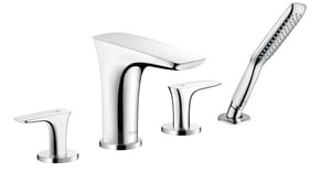 Hansgrohe PuraVida™ 4-Hole Double Lever Handle Roman Tub Trim Set H15446