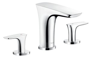 Hansgrohe PuraVida™ 3-Hole 6.6 gpm Roman Tub Set Trim with Double Lever Handle H15440