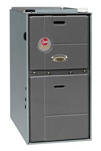 Rheem Prestige™ 17-1/2 in. 75000 BTU 96% AFUE 6.5 Ton Two-Stage Upflow 1/2 hp Natural or LP Gas Furnace RGFG07EMCKS