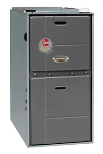 Rheem Prestige™ 23-2/5 in. 105000 BTU 95.4% AFUE 9 Ton Two-Stage Upflow 1 hp Natural or LP Gas Furnace RGFG10EZCMS