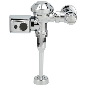Zurn Industries AquaVantage® Battery Powered Flush Valve in Polished Chrome ZZER6003PLEWSCPM