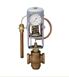 Powers Process Controls 50 psi Bronze Double Seat Temperature Regulating Valve P595DS200HC08DN05