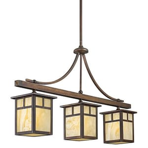Kichler Lighting Alameda 100W 3-Light Outdoor Hanging Pendant KK49090