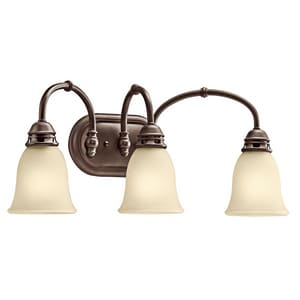 Kichler Lighting Durham™ 100W 3-Light Medium Bracket Fixture KK45066