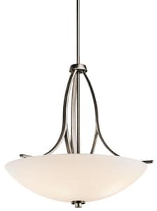 Kichler Lighting Granby™ 100W 3-Light Inverted Pendant in Brushed Pewter KK42561BPT