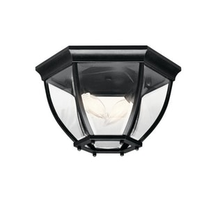 Kichler Lighting 7 in. 2-Light Outdoor Flushmount Fixture KK9886