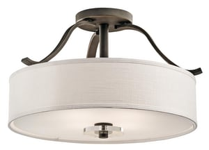 Kichler Lighting Leighton™ 100W 4-Light Medium Incandescent Ceiling Light in Olde Bronze KK42486OZ