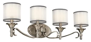 Kichler Lighting Lacey™ 10 in. 60W 3-Light Candelabra Incandescent Bath Light KK45284