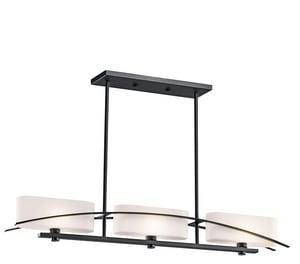 Kichler Lighting Suspension™ 60W 3-Light Candelabra Halogen Chandelier KK42017