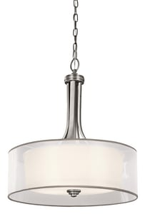 Kichler Lighting Lacey™ 23-1/2 in. 100W 4-Light Medium Pendant KK42385