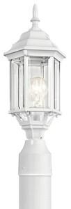 Kichler Lighting Chesapeake 100W 1-Light Outdoor Post Lamp in White KK49256WH