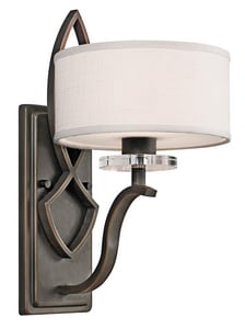 Kichler Lighting Leighton 60W 1-Light Wall Sconce KK45178