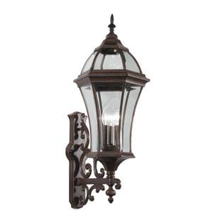 Kichler Lighting Townhouse 60W 3-Light Outdoor Wall Sconce KK49185