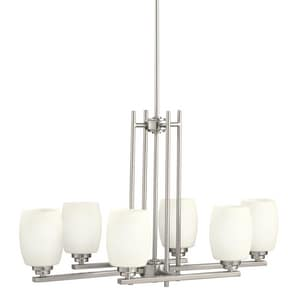 Kichler Lighting Eileen™ 18-1/2 in. 100W 6-Light Medium Chandelier KK3898